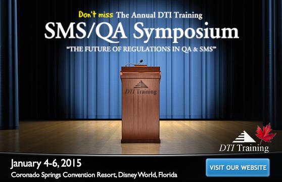 DTI Training – Annual QA/SMS Symposium