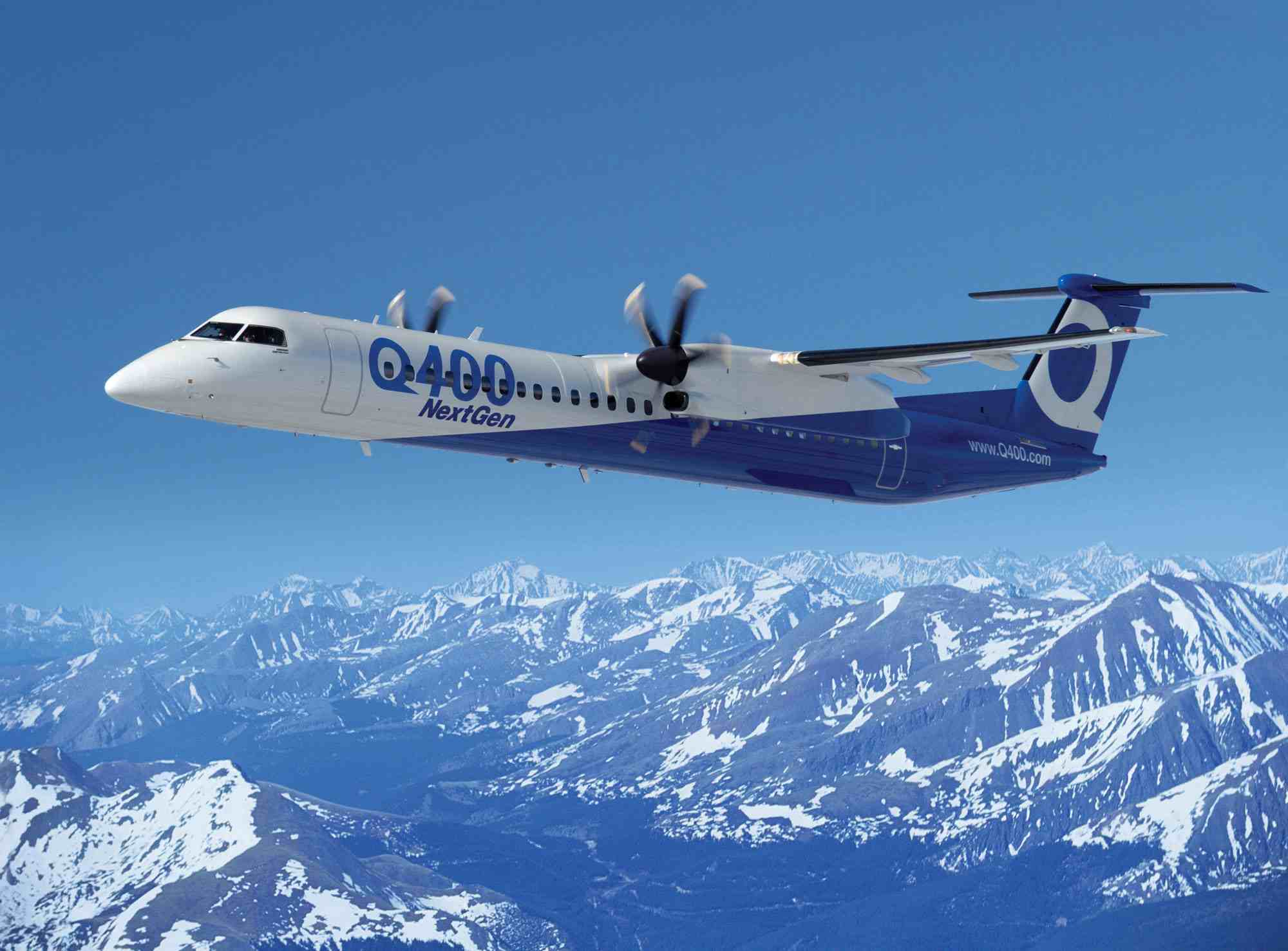 dehavilland dash 8 q400 картинки