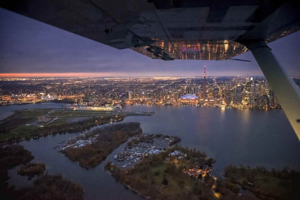 Billy Bishop among world's most-scenic airports