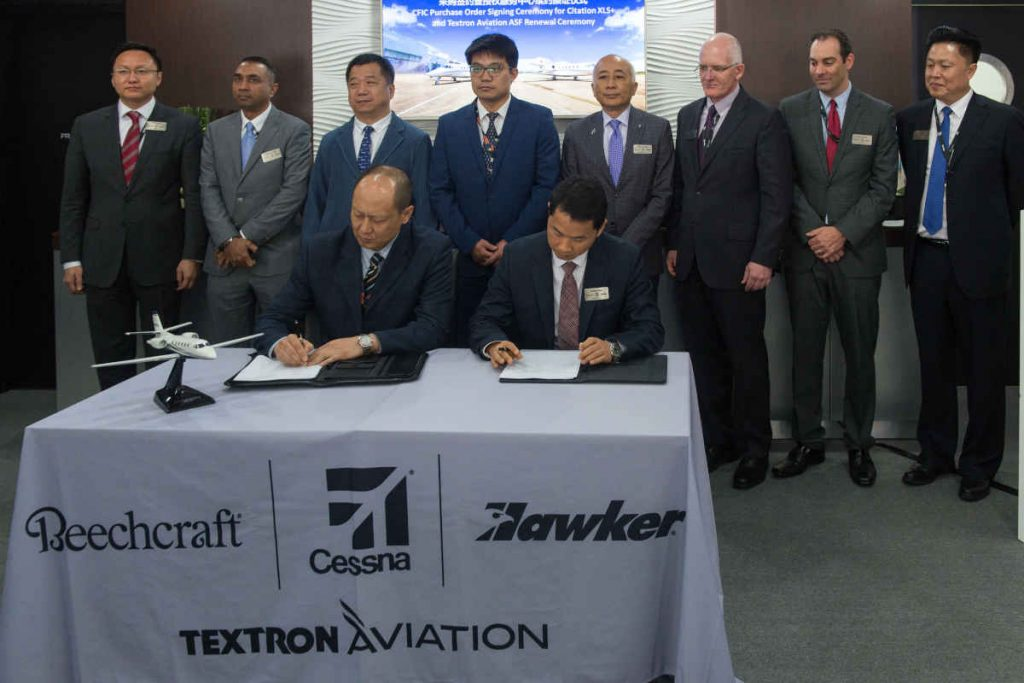 Chinese inspector orders eight Cessna Citation XLS+ - www