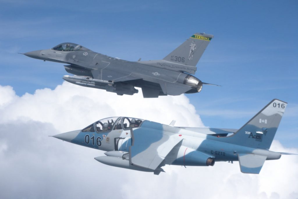 Top Aces reaches 80,000 hours of air combat training