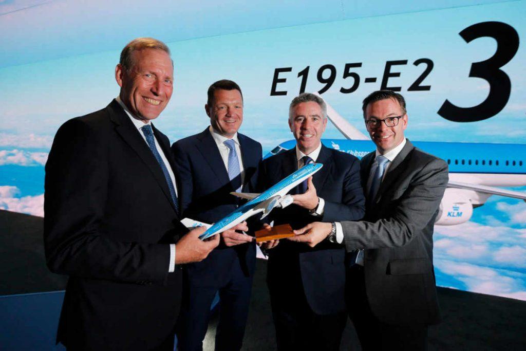 KLM commits to 21 E195-E2 aircraft
