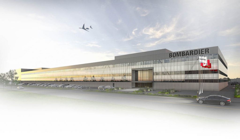 Bombardier to relocate Global final assembly to Toronto Pearson