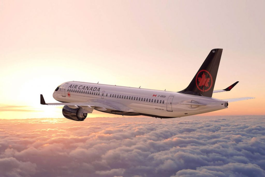 Air Canada airframe agreements with AAR and Avianor