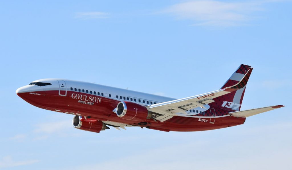 Coulson Aviation receives USDA air-tanker services contract