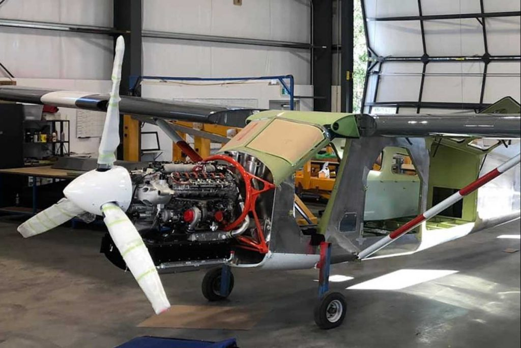 Sealand fits DHC-2 Beaver with RED A03 engine